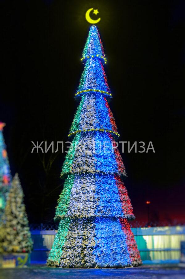 Уличная Ель светодинамическая «Сибирская»