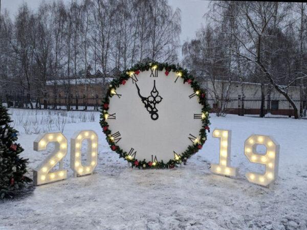 """Новогодние """"Часы"""""""